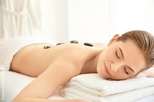 auszeit hotstone massage